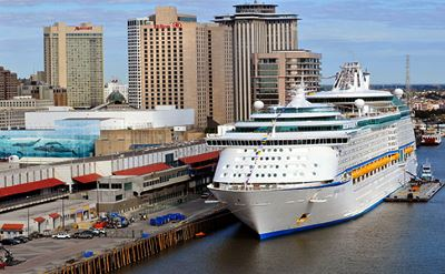 New Orleans cruise terminal